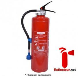 Extincteur 6l Eau+Additif à pression auxiliaire