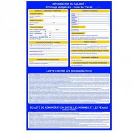 Affichage obligatoire panneau information du salarié