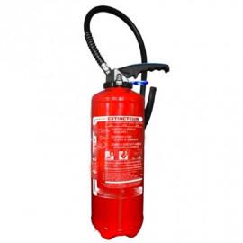 Extincteur 9 litres eau & additif avec antigel