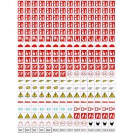 Planche 1 picto pour vos plans d'évacuation