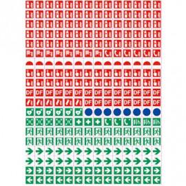 Planche N°2 pictogrammes plan d\'évacuation
