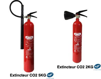 Les appareils CO2