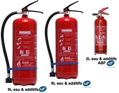 Les appareils eau et additifs
